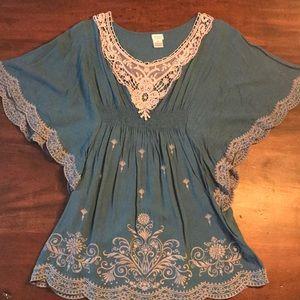 Tops - SALE🌸3/$20 Boho Embroidered Tunic